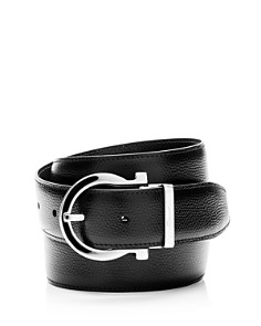 Salvatore Ferragamo - Reversible Leather Belt